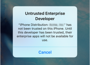untrusted-enterprise-developer-iphone