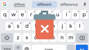 Remove Learned Words From Keyboard On Android