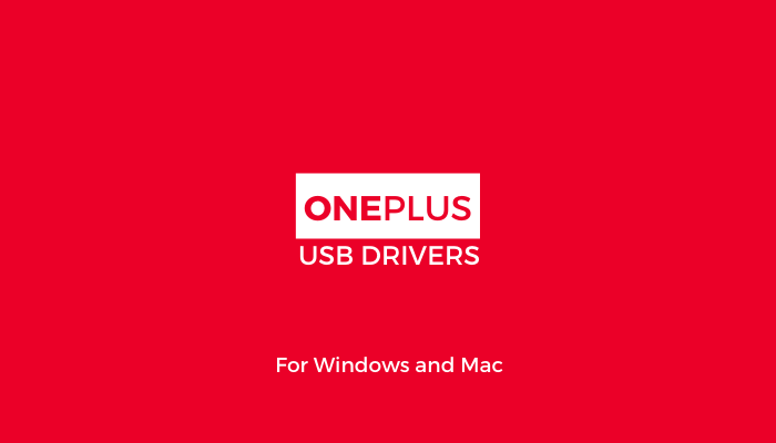 OnePlus-USB-Drivers