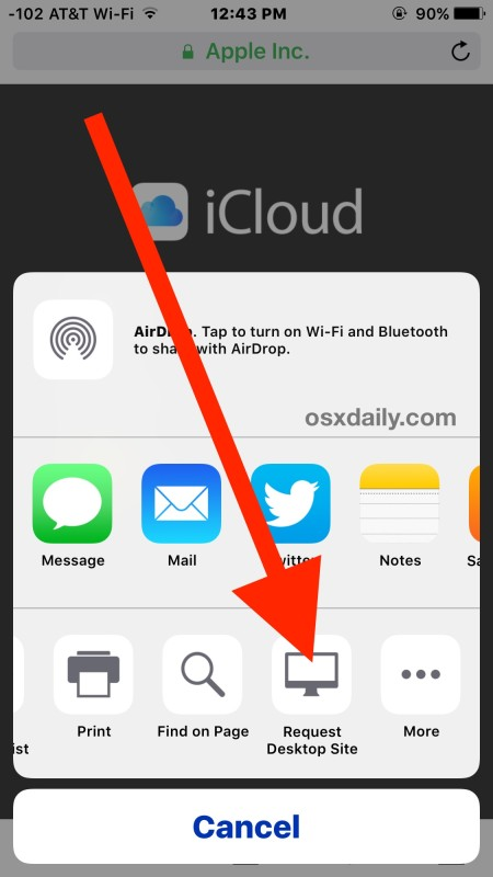 Guide To Login To Icloud.com From Iphone/ipad