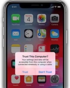 Iphone zeigt an, dass der Dcim-Ordner auf dem PC leer ist. Was tun?