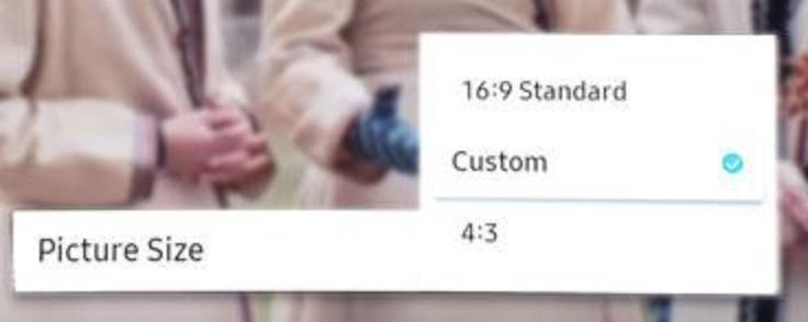 Warum sind die Einstellungen für die Bildgröße auf Ihrem Samsung-Fernseher nicht verfügbar?