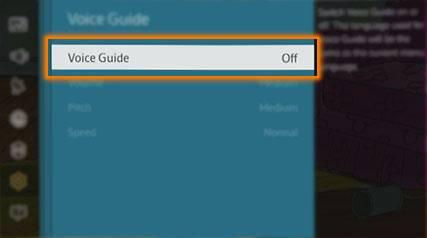So deaktivieren Sie Voice Guide auf Samsung Smart Tv
