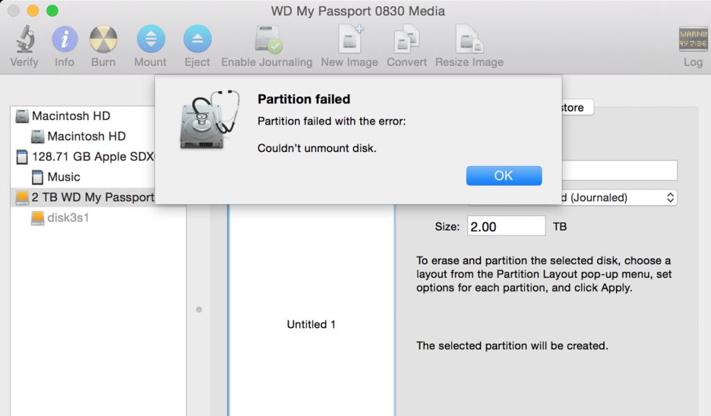 Ошибка Mac «не удалось отключить диск» |  Окончательное решение