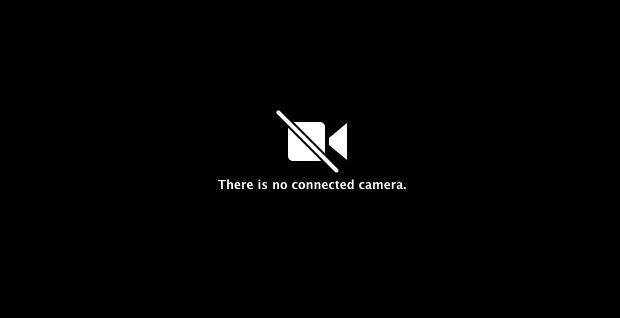 Почему на моем Mac Facetime Camera отображается сообщение «Нет подключенной камеры»?