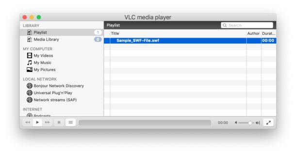 So öffnen Sie SWF-Dateien auf dem Mac