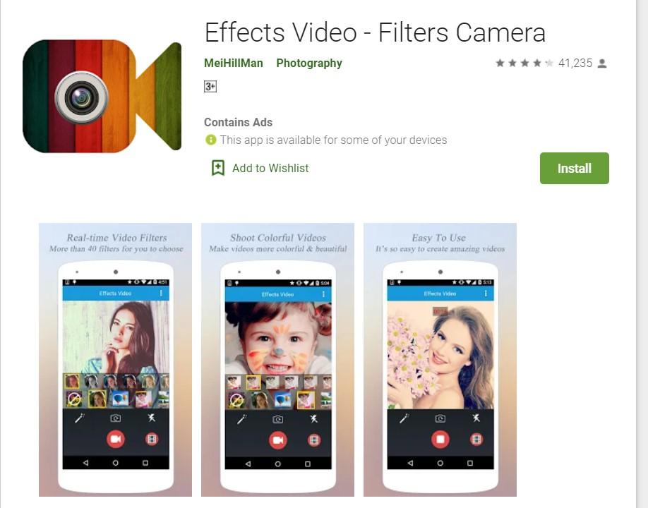 Лучшие приложения с видеофильтрами для Android и iOS