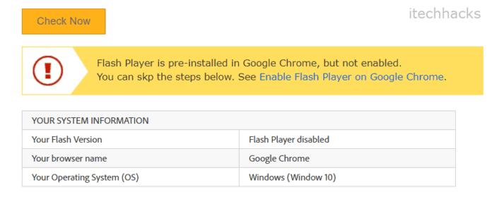 Как протестировать Flash Player в Chrome 3