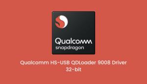 Qualcomm HS USB QDLoader 9008 Driver 32 bit