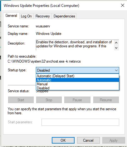 Windows 10-Updates werden nicht installiert 2