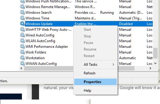 Windows 10-Updates werden nicht installiert 3